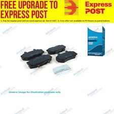 TG Brake Pad Set Rear DB1923WB fits Citroen Xsara 1.6 16V,1.6 i,1.8 i 16V