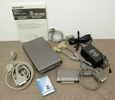 """Sharp CE-301F 3.5"""" FDD Unit Floppy Disk Drive, FDD Cable + More - Tested"""