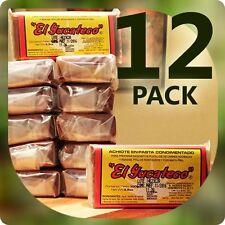 12 PACK Red Achiote Spiced Seasoning Paste - EL YUCATECO 3.5oz (100g)