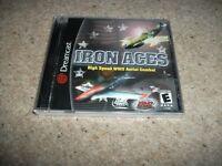 IRON ACES - Sega Dreamcast (NTSC/U)  Very Rare NEW & SEALED (US)