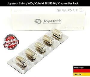 Joyetech Coil Cubis AIO / Cuboid BF SS316 / Clapton 5 er Pack Coils  E Zigarette