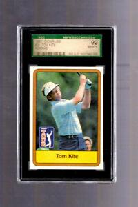 1981 Donruss Golf Tom Kite ROOKIE CARD RC #20 SGC 8.5 92 Graded Texas Longhorns