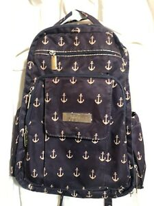JuJuBe Diaper Backpack in Admiral Anchor Print Maternity Baby