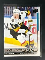 2018-19 Zach Whitecloud UD Young Guns Rookie