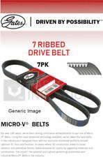 7 Rib Multi V Drive Belt fits HONDA FR-V BE5 2.2D 05 to 09 N22A1 Gates Quality