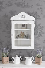 Medicine Cabinet Hanging Display Shelf Apothecary Cottage Wall New