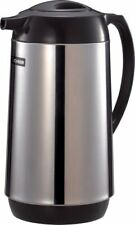 NEW Zojirushi Polished Stainless Steel Vacuum Insulated Thermal Carafe 1 liter