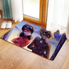 Neu miraculous ladybug Matte Toilette Vorleger Teppich Fußmatte 40x60CM