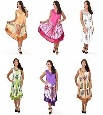Wholesale lot 10 dresses Umbrella Tie Dye Baby Doll dress Hand Embroidery