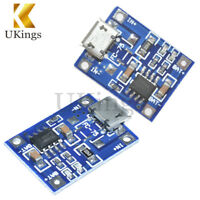 2/5/10PC 5V MicroUSB18650 Lithium Battery Charging Board Charger Module TP4056