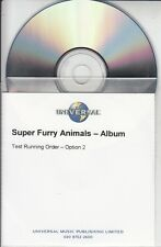 SUPER FURRY ANIMALS Rings Around The World 2001 UK 15-track promo publishing CD
