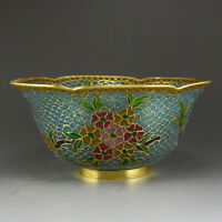 Chinese Gilt Gold Bodiless Cloisonne Bowl