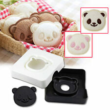 Cute Panda Bear Sandwich Pocket Maker Bread Toast Mold Mould Cutter Stamp