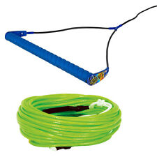 Ronix Bandwagon Wakeboard Handle with Hyperlite A-Line Rope 80ft Neon Green NEW