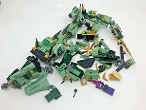 Lego Ninjago 70612 Green Ninja Mech Dragon, not Complete, Retired Set