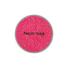 Glitter Glitzer Glitterpuder NEON-ROSA irisierend 3g  0,2mm in ZIP Tüte