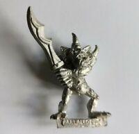 Warhammer Fantasy Nurgle Plaguebearer Chaos Daemons Metal OOP 1994