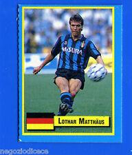 TOP MICRO CARDS - Vallardi 1989 - Figurina-Sticker - MATTHAUS - INTER