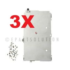3X iPhone 5 | iPhone 5C | iPhone 5S LCD Plate Shield Back Frame Metal Bracket