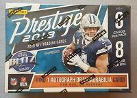 Panini Prestige Football NFL Blaster Box 2018 1 Autograph or Memorabilia per Box