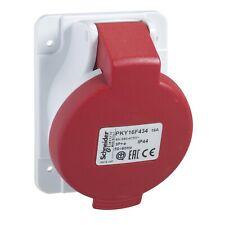 socle de prise industrielle coudée 16 A - 3P+N -380-415 V ( lot de 2)  PKY16F435