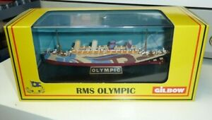 GILBOW (EFE) SHIP MODEL ON STAND - RMS OLYMPIC BOXED