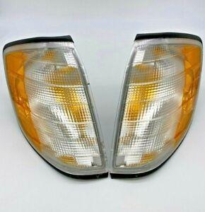 Turn Signal Assy Set Left & Right fits MBZ S320/S350/S420 Magneti Marelli OEM