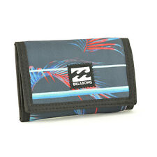 Billabong Men's Atom Tri-Fold Fabric Wallet - SS17: Stripe