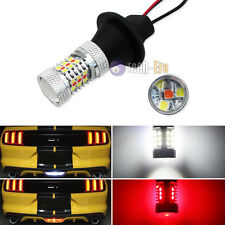 White/Red Switchback 31-SMD LED Kit For 15-up Mustang Backup & Rear Fog Lights