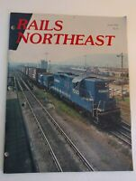 VTG Railroad Train RAILS NORTHEAST Magazine June 1982 # 91 Way Bill Consist