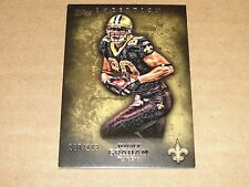 2012 Topps Inception JIMMY GRAHAM #17 Gold SP/123 Saints - Seahawks HURRICANES
