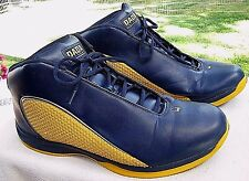 DADA SUPREME Navy & Gold Basketball Running Athletic Sneakers Shoes Size 18