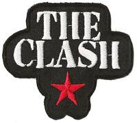 Écusson blason patche THE CLASH punk thermocollant patch rocker