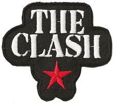 Ecusson blason patche THE CLASH punk thermocollant patch rocker