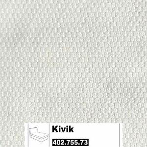* New Original IKEA cover set for Kivik chaise longue in Dansbo White 402.755.73