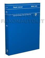 BMW 320i Shop Manual 1977 1978 1979 1980 1981 1982 1983 Repair Service Book