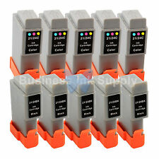 10 PACK BCI-24 NEW Ink for Canon PIXMA MP130 iP1500 iP2000 MultiPASS MP360 F20