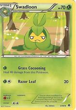 POKEMON B&W EMERGING POWERS - SWADLOON 6/98