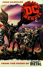 The New Age of DC Heroes Sampler Ashcan Dark Nights Metal SDCC Comic Book