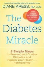 The Diabetes Miracle: 3 Simple Steps to Prevent and Control Diabetes-ExLibrary