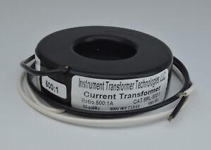 5RL-501-1 CT (Current Transformer), 500:1A, ITT  (Mis-labeled 5RL-500-1)