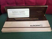 AURORA THESI penna a sfera design MARCO ZANUSO  versione in argento vermeil 925