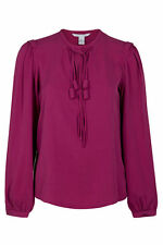Long Sleeve Semi Fitted Casual Tops & Shirts for Women
