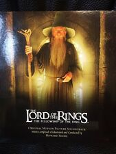 The Lord Of the Rings  The Fellowship of the Ring CD Soundtrack EUC