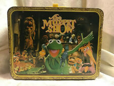 Vintage 1978 The Muppet Show Metal Lunch Box