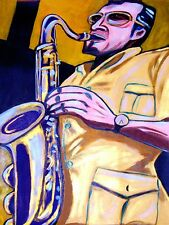 STAN GETZ PRINT poster jazz bossa nova cd tenor saxophone concert joao gilberto