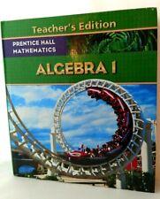 ALGEBRA 1 Teacher's Edition Prentice Hall Mathematics 2009 Bellman Bragg Mint