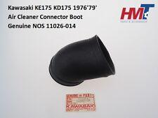 Genuine Kawasaki KE175 KD175 1976'-79' Air Cleaner Connector Boot 11026-014 NOS