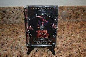 The Evil Dead (DVD, 1999) Super Jewel Box Case