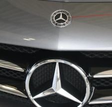 Mercedes Benz Standing Star Conversion to Flat Mount Hood Emblem - NEW OEM ZII